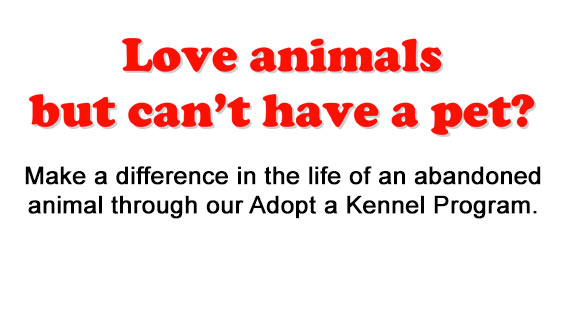 Adopt a Kennel Program