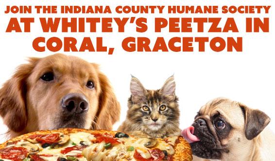 Fundraising dinner at Whitey's Peetza
