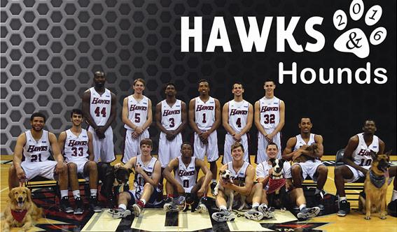 2016 IUP Basketball team calendar