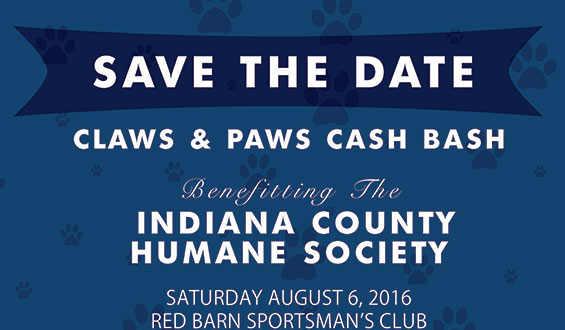 Claws & Paws Cash Bash