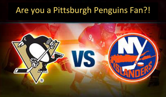 We are raffling off two Pittsburgh Penguins tickets!!!