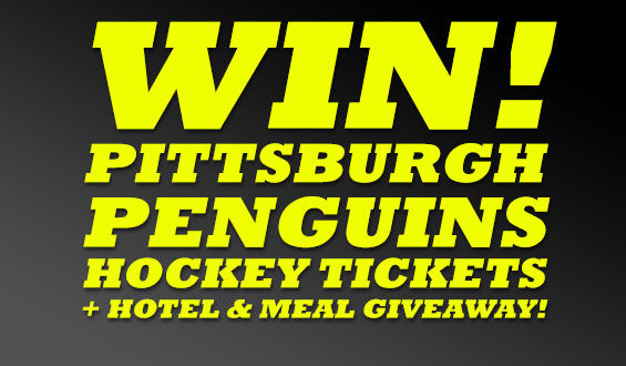 Win Pittsburgh Penguins Hockey Tickets and more